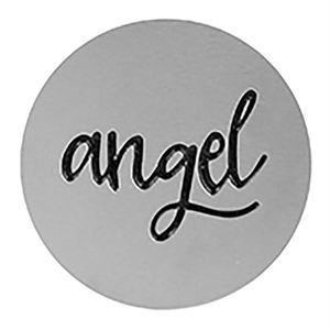 Picture of 'Angel' Large Silver Coin